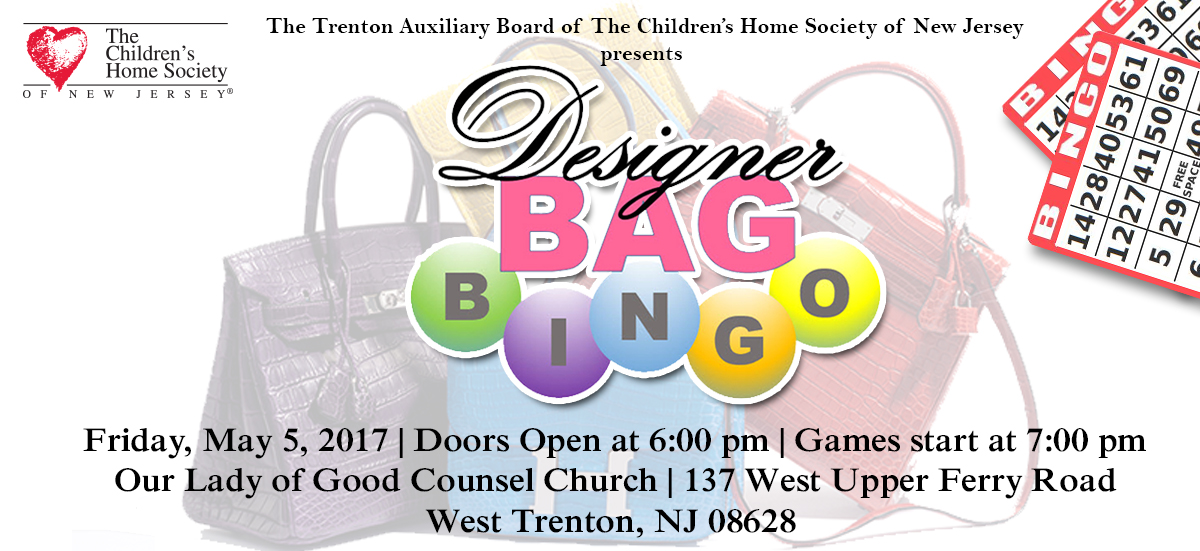 Designer Handbag Bingo Payment Form   The Childrenu0027s Home Society Of New  Jersey