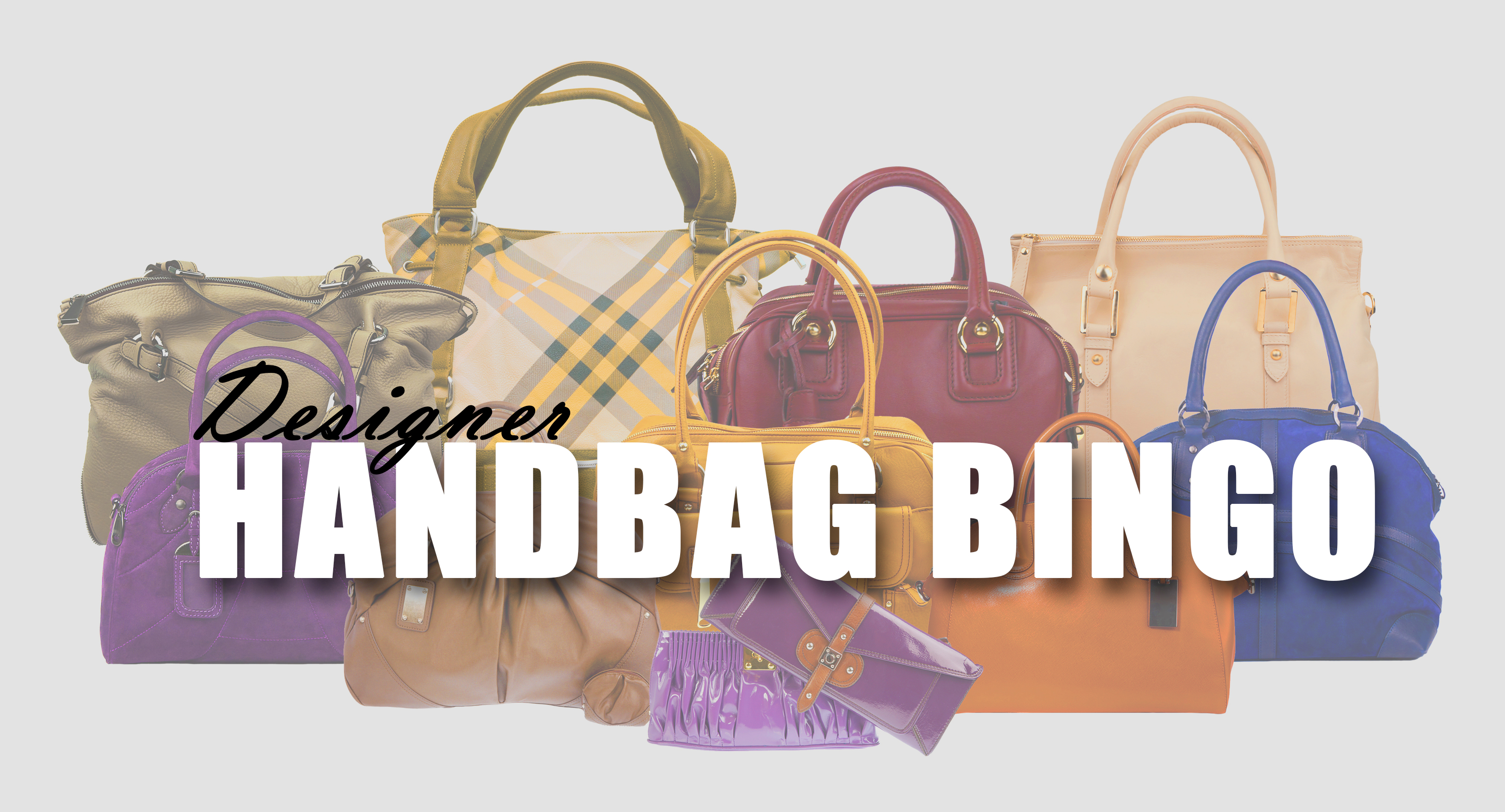 Image result for designer handbag bingo